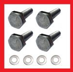 Handlebar Clamps Bolt Kit A2 Stainless - Kawasaki KX125